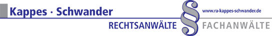 Rechtsanwälte Kappes · Schwander Logo